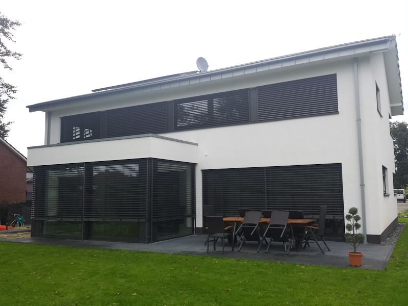 Berühmt Alu Fenster 24 - Aluminium Premium Fenster Referenzen PY37